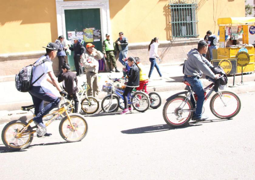 Alistan la actividad del Día del Peatón Municipal en la ciudad de Potosí
