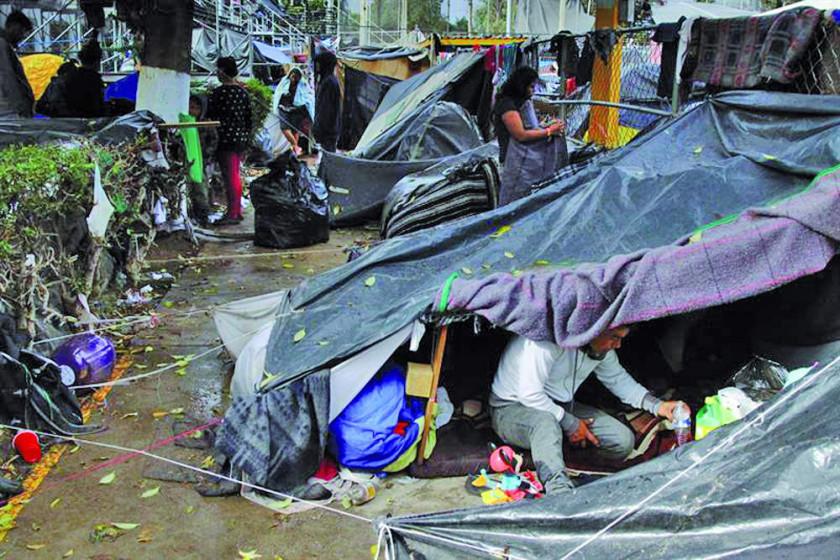 Migrantes anuncian huelga de hambre para presionar por asilo