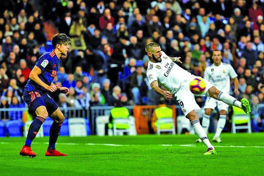 """Real Madrid vence a Valencia en el """"Santiago Bernabéu"""""""