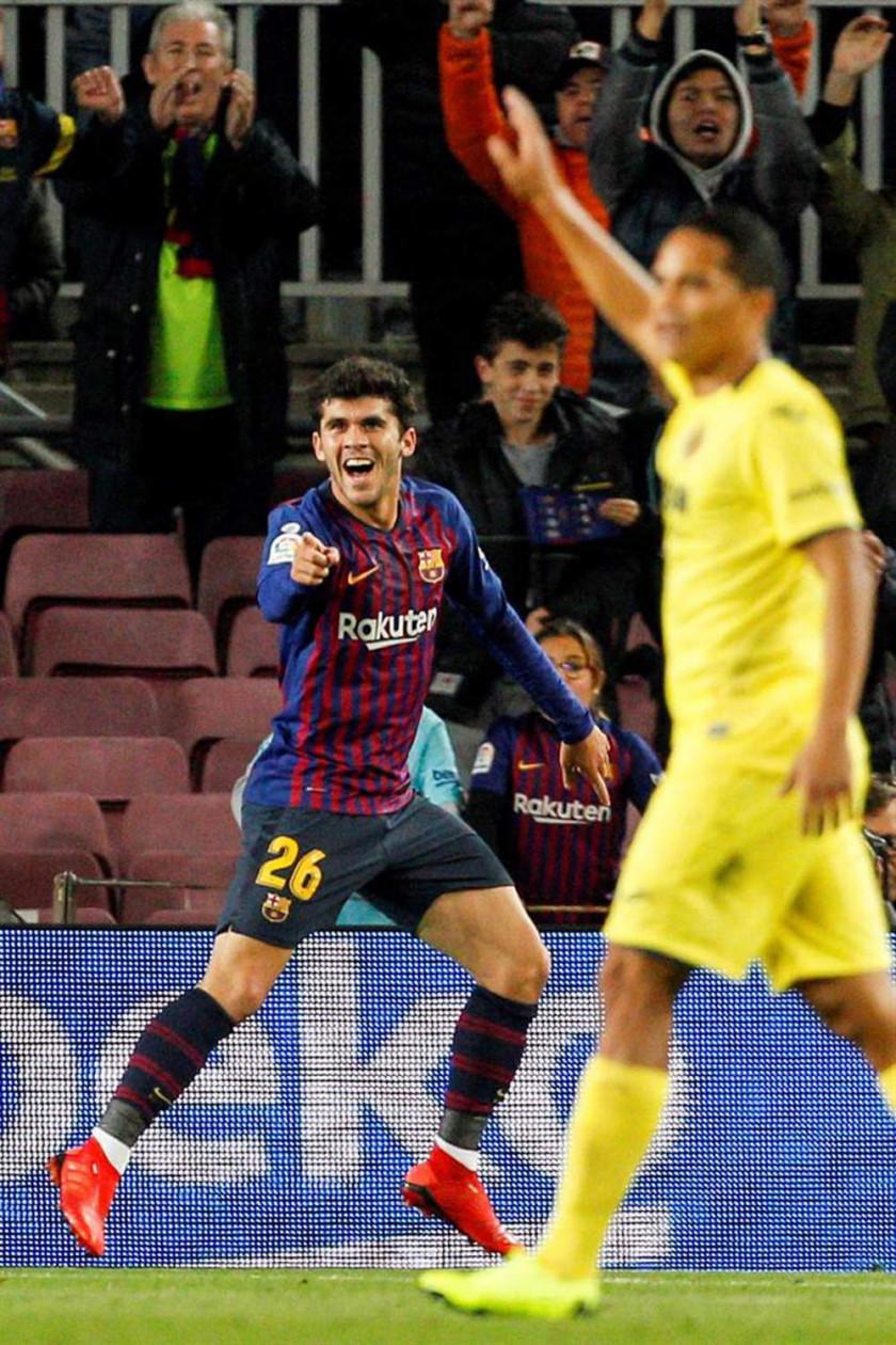 """Barza gana a Villarreal en el """"Camp Nou"""""""