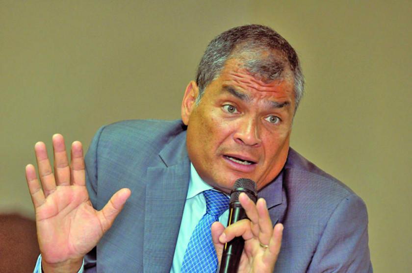 La Interpol rechaza la detención del exmandatario Rafael Correa