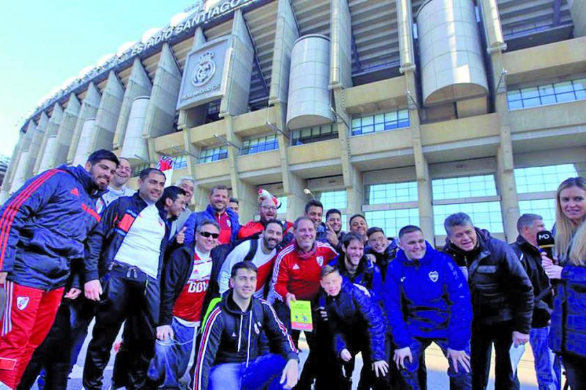 Ya se empieza a vivir la final en Madrid