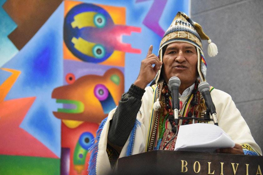 The New York Times dice que los indígenas retiran su apoyo a Evo Morales