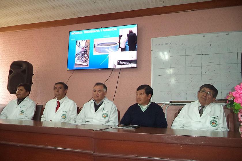 Entregan infraestructuras en el hospital obrero de la CNS