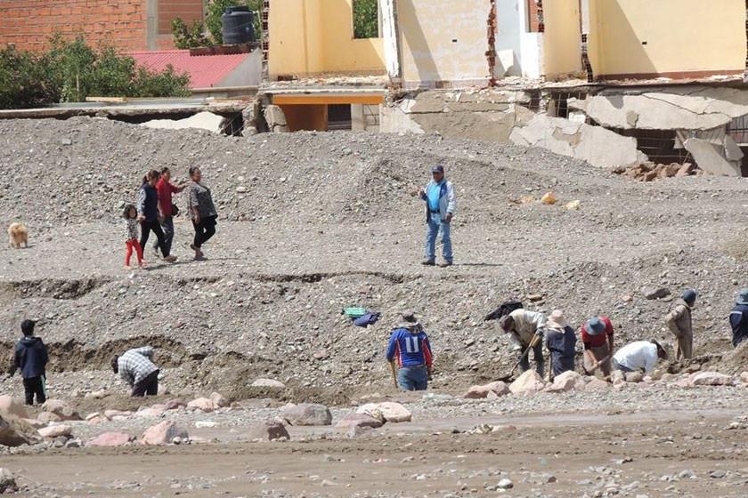Declaran a Tupiza como zona de desastre por las lluvias