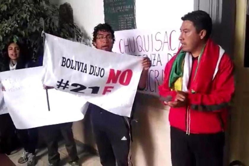 Sucre: instalan otro piquete de huelga en defensa del 21F