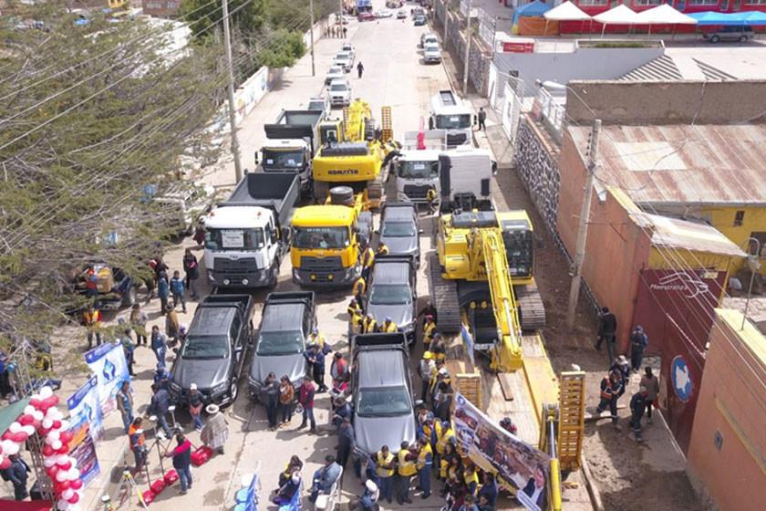 Gobernación entrega equipo para atender desastres naturales