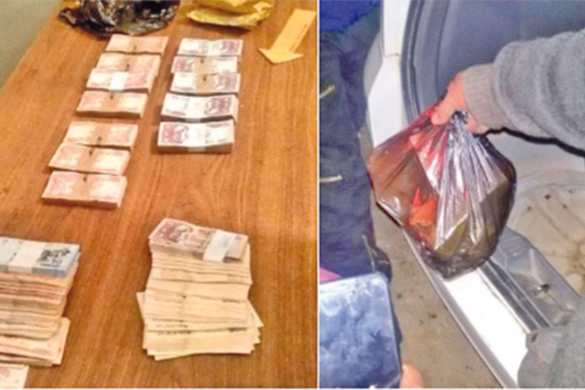 Policía recupera parte del dinero robado en la empresa Huanuni