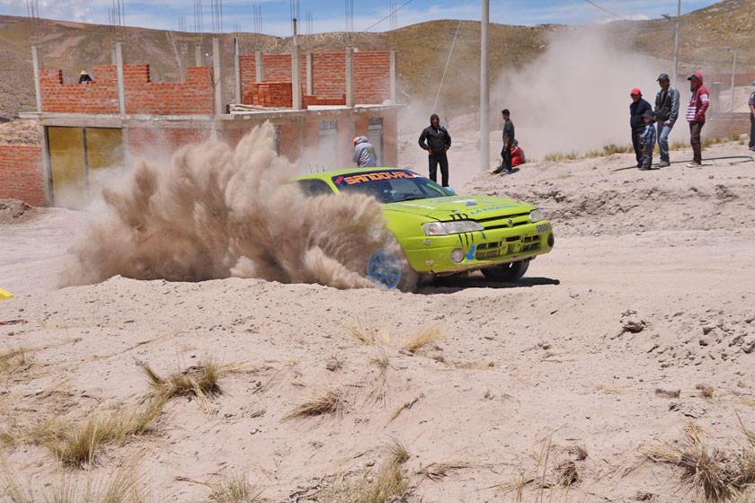 Potosí será sede de una prueba internacional de automovilismo