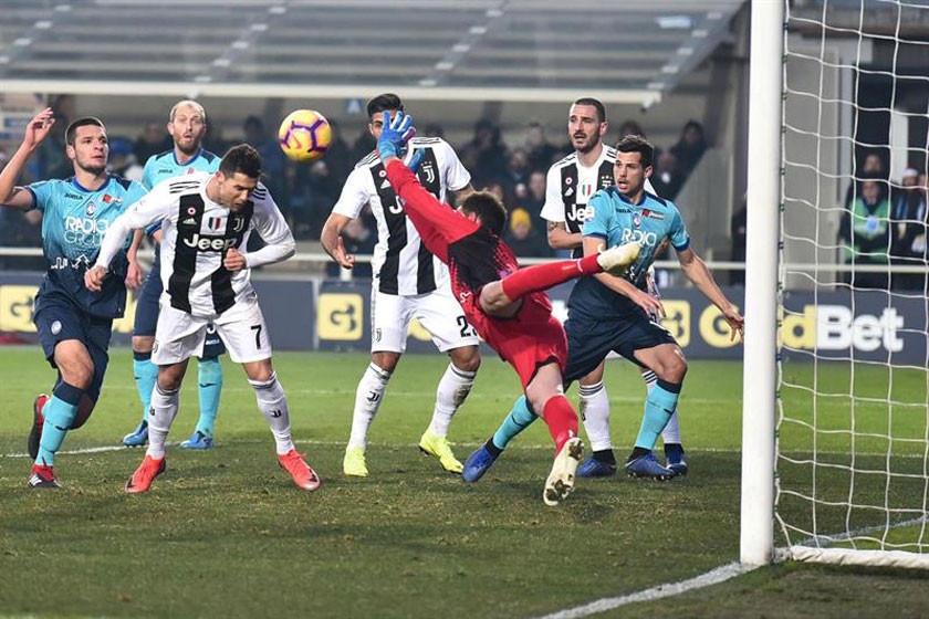 Juventus rescata un empate ante Atalanta