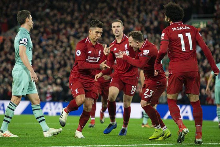 Un Liverpool arrollador cierra el año invulnerable en la Premier