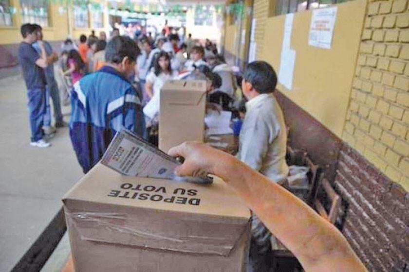 El padrón electoral de Potosí ya cuenta con 429.200 electores