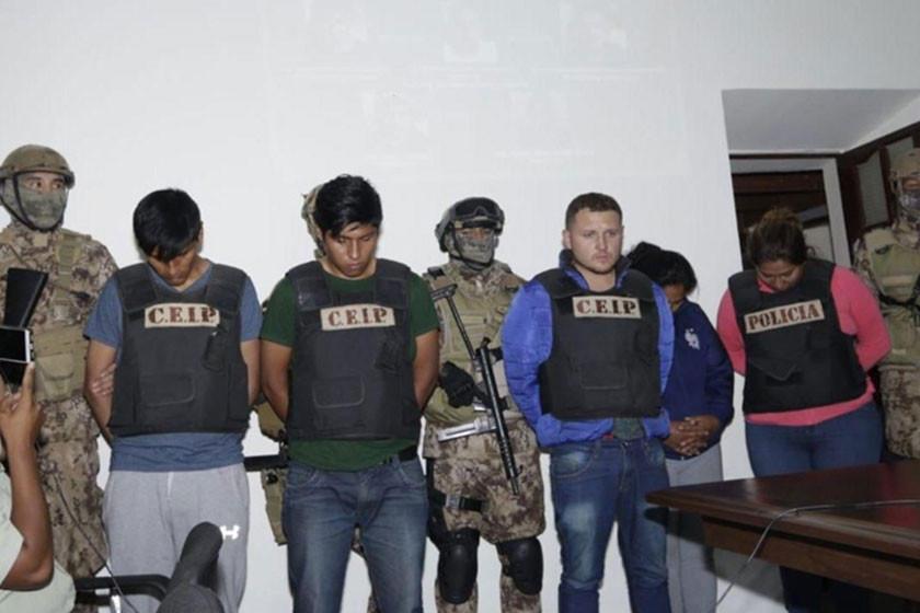 Juez envía a la cárcel a cuatro involucrados en el secuestro de un chileno
