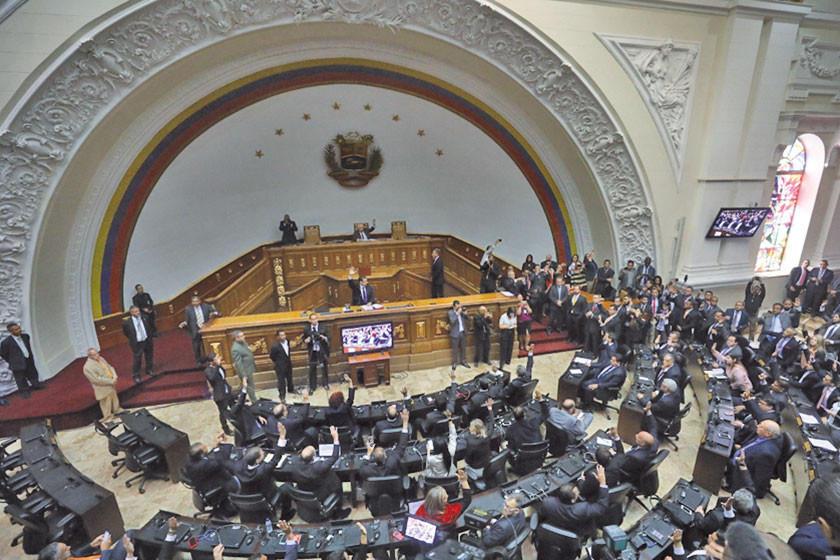 El Parlamento opositor  buscará transición del Gobierno de Venezuela