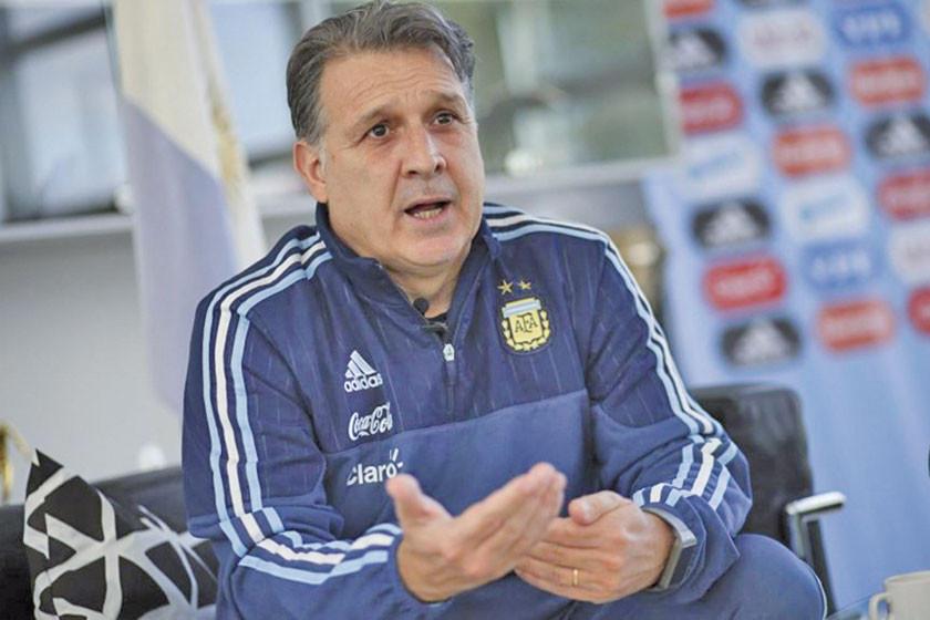 El técnico argentino Gerardo Martino llega a México para hacerse cargo del Tri
