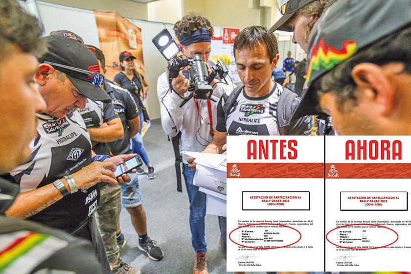 """Wálter Nosiglia ofrece cuadriciclo de su mochilero  para que corra el """"Chavo"""" Salvatierra"""