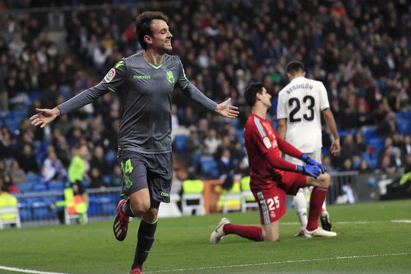 Real Madrid se baja del tren de la Liga al caer en su casa ante Sociedad