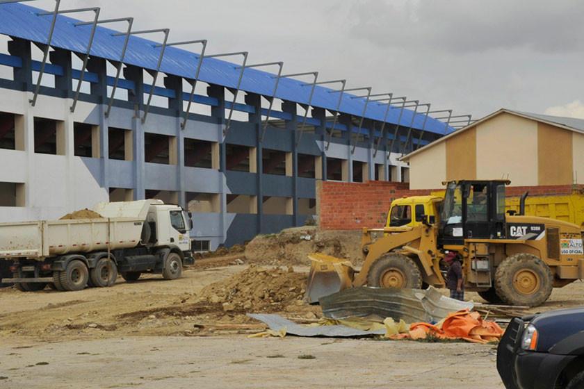 El Alto mejora estadio para el Apertura