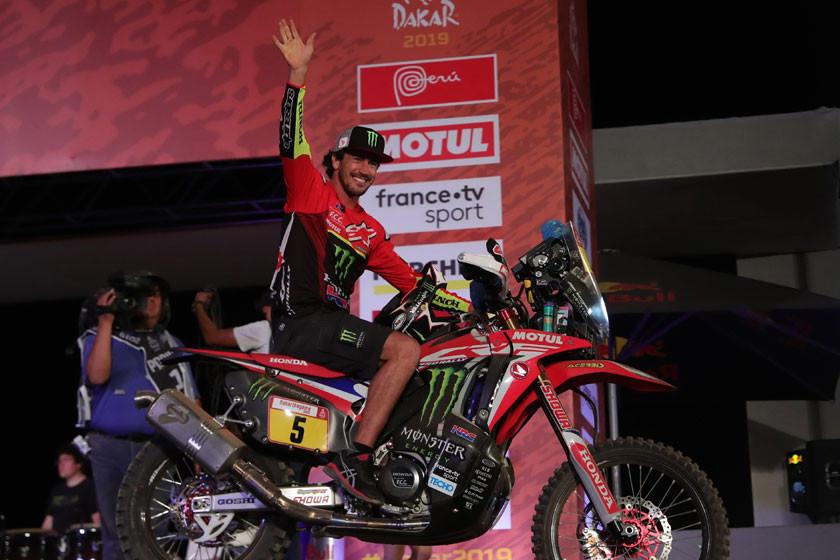 Barreda sigue dominando  en la categoría motos