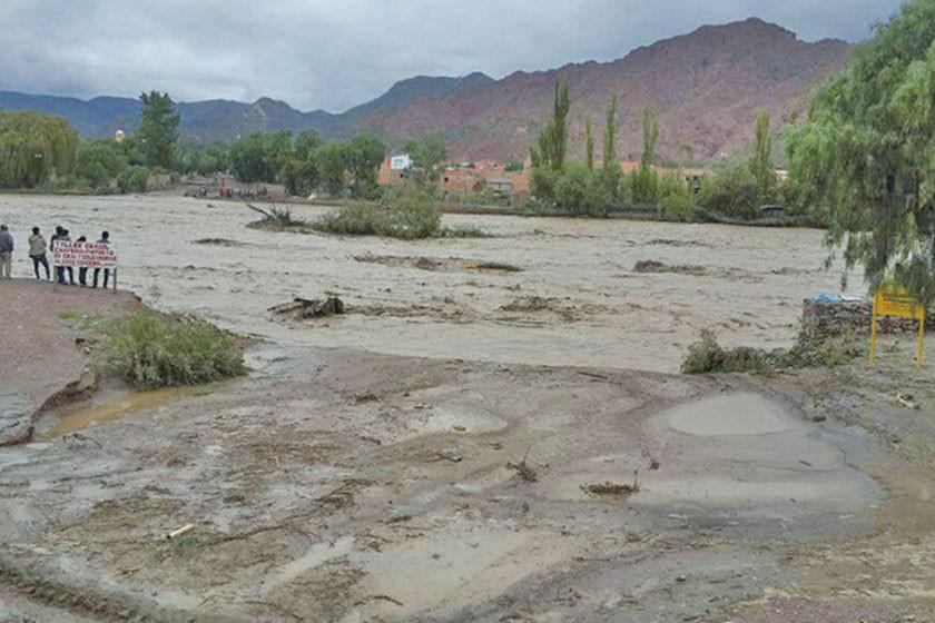 Senamhi emite alerta naranja por aguaceros  altos en la región sur