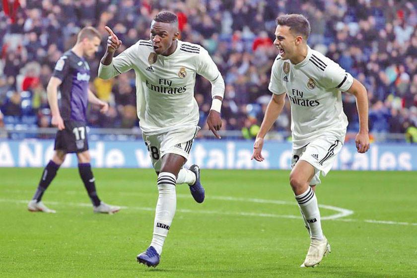Vinicius lidera la victoria de Real Madrid