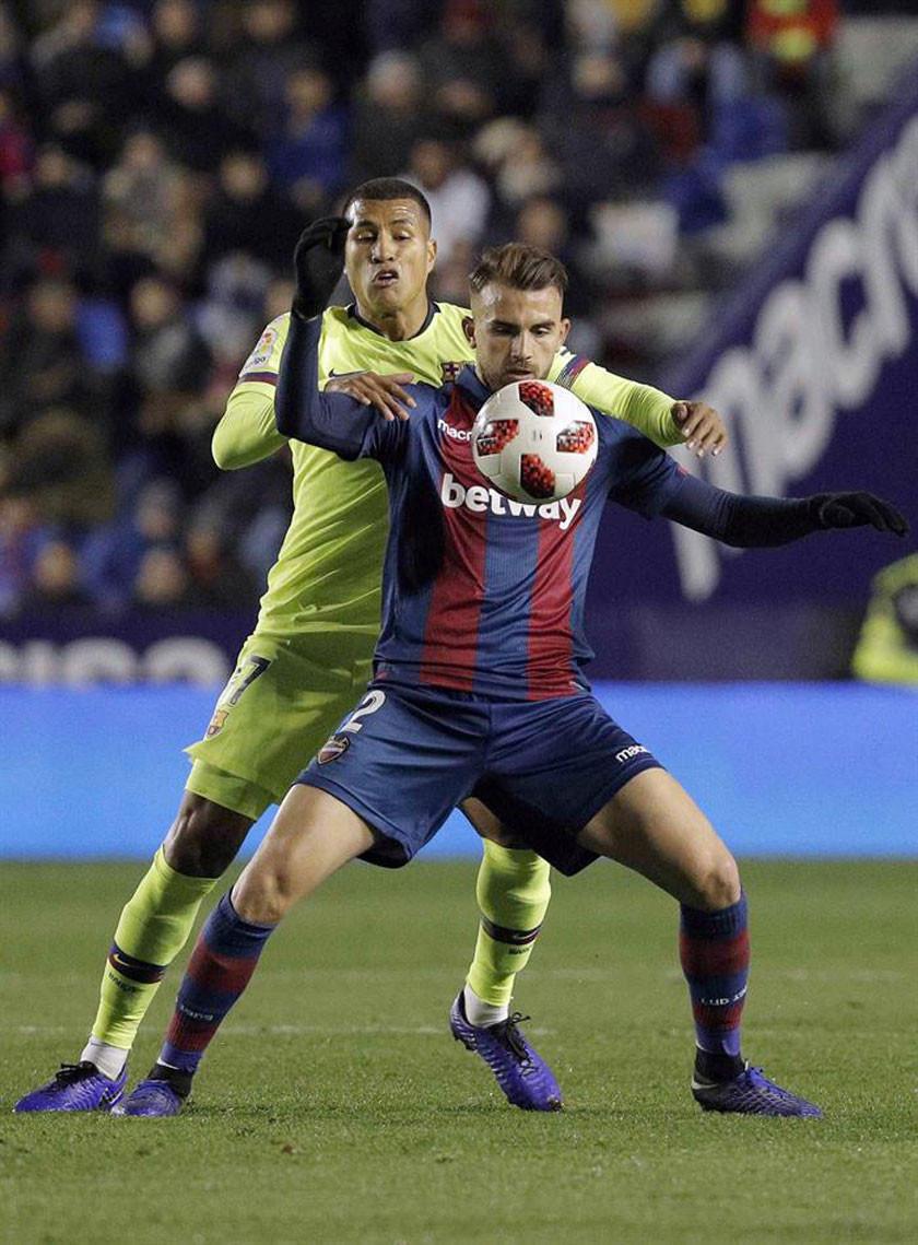 Levante impone su ley ante Barcelona