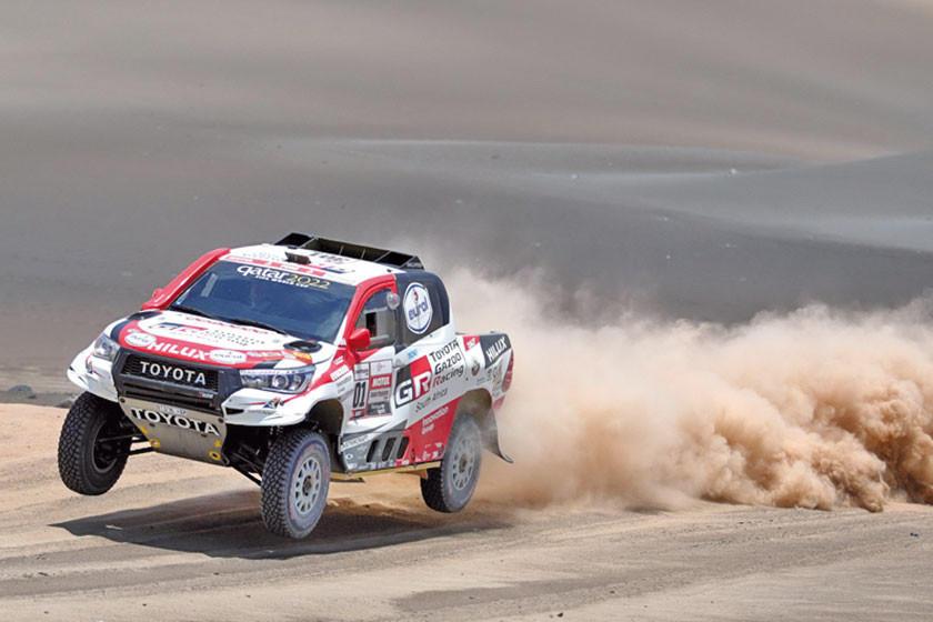 """La marca Toyota """"saca pecho"""" con cada etapa en la competencia más dura del planeta"""