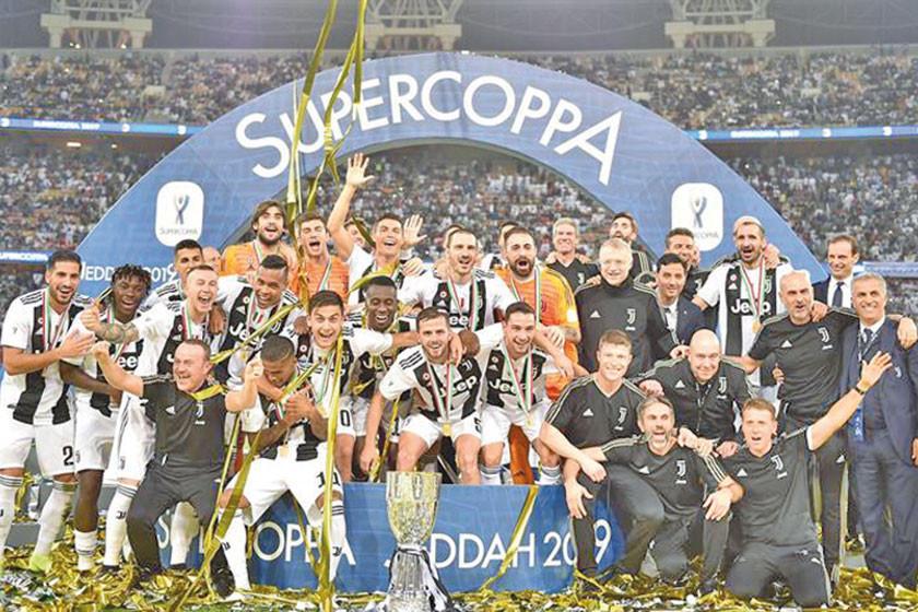 Juventus se corona campeón de la Supercopa italiana