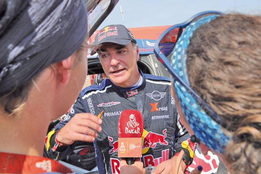 Sainz termina su Rally más problemático