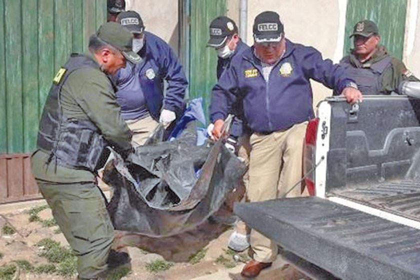 Un hijo asesina a su padre y lo descuartiza en la ciudad de El Alto