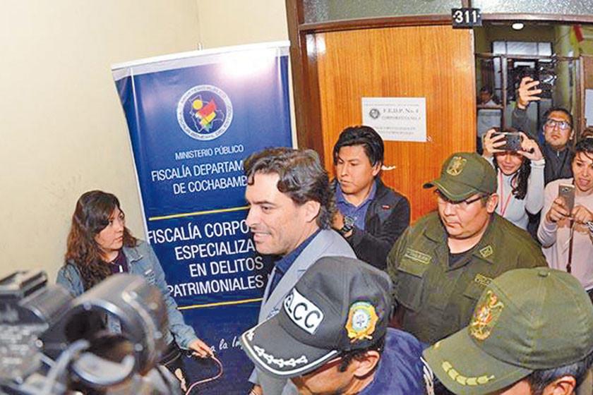Piden detención preventiva de Padilla por Mochilas II