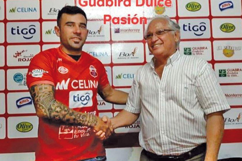 Guabirá habilita al argentino Maximiliano Velasco