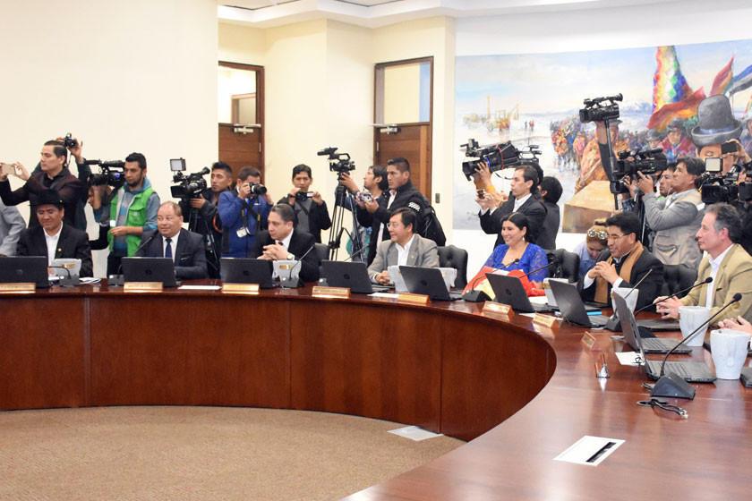 Se reduce la presencia potosina en el gabinete de Evo Morales