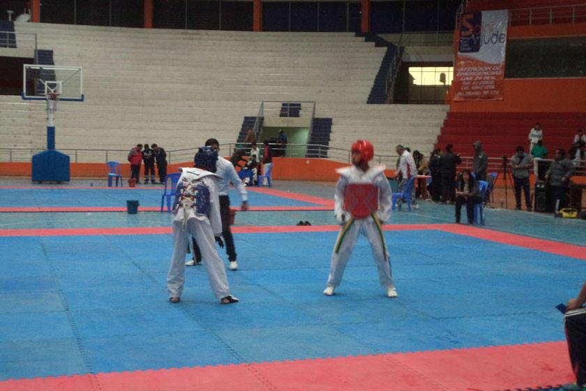 Más de 300 deportistas compiten en la III edición de la Copa Potosí de Taekwondo