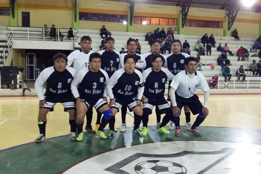 San Pedro se corona campeón de la asociación de futsal de Potosí