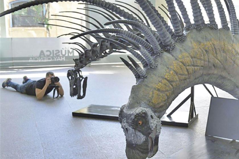 Hallan restos de otro dinosaurio