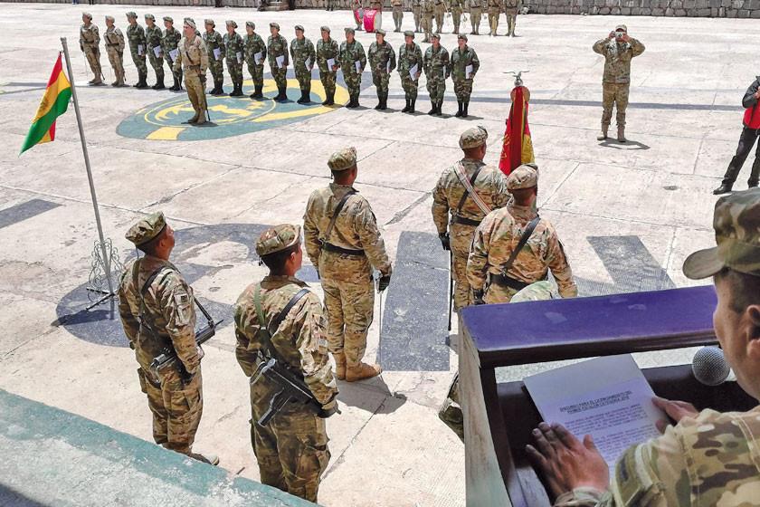 Licencian a 16 mujeres que cumplieron su servicio militar
