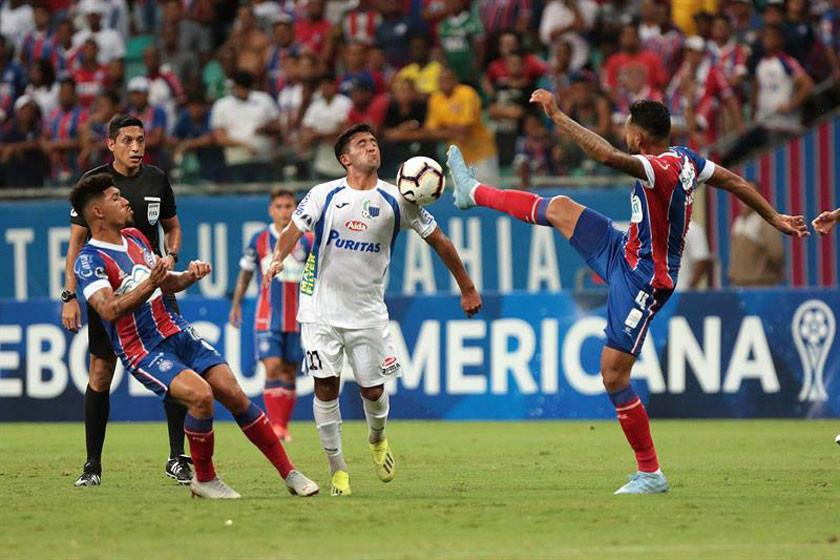 """Liverpool gana a Bahía en su visita al estadio """"Arena Fonte Nova"""""""