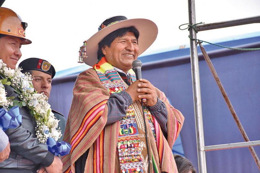 Evo: fábrica de cemento de Oruro se inaugurará el 28