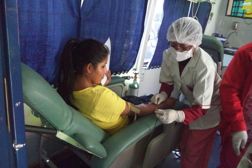 Diariamente se requieren 10 donantes voluntarios de sangre