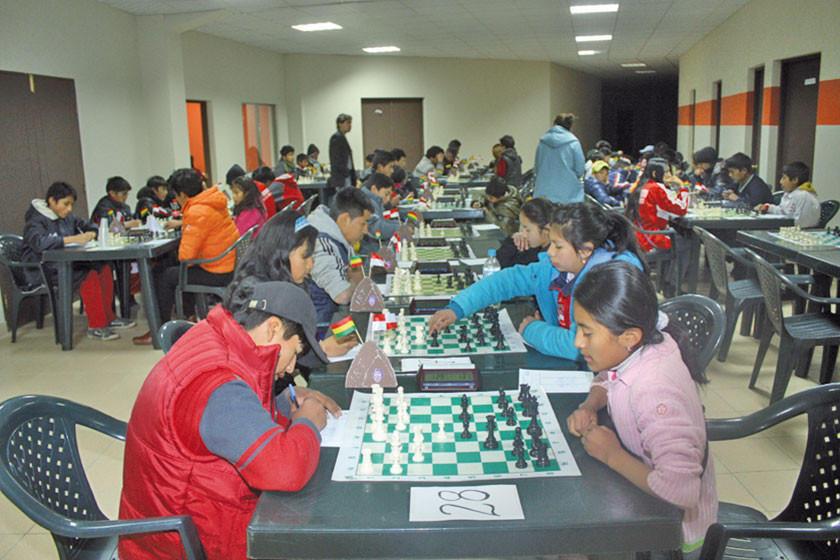 Potosí albergará cuatro torneos nacionales de ajedrez