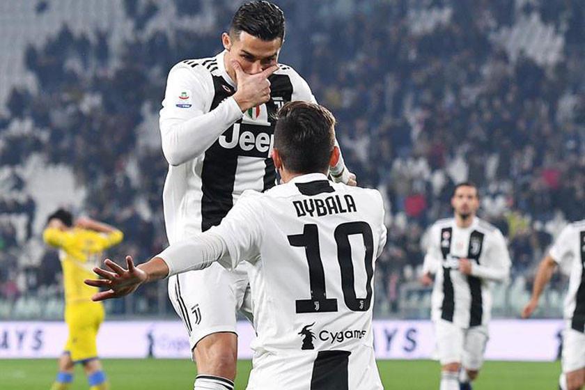 Juventus gana y calienta motores para Madrid