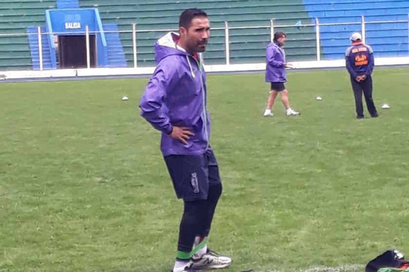 El jugador Ignacio García cumple un trabajo diferenciado