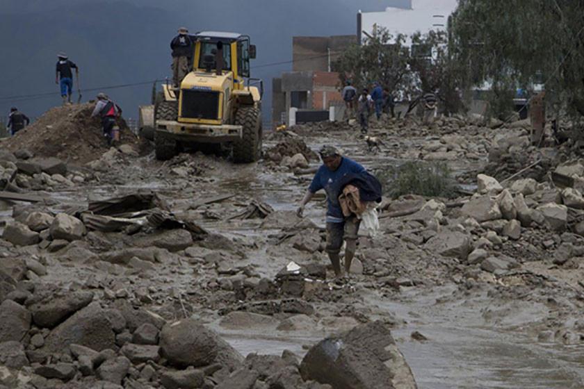 Lluvias causan 24 muertos y 26 desaparecidos en mes y medio