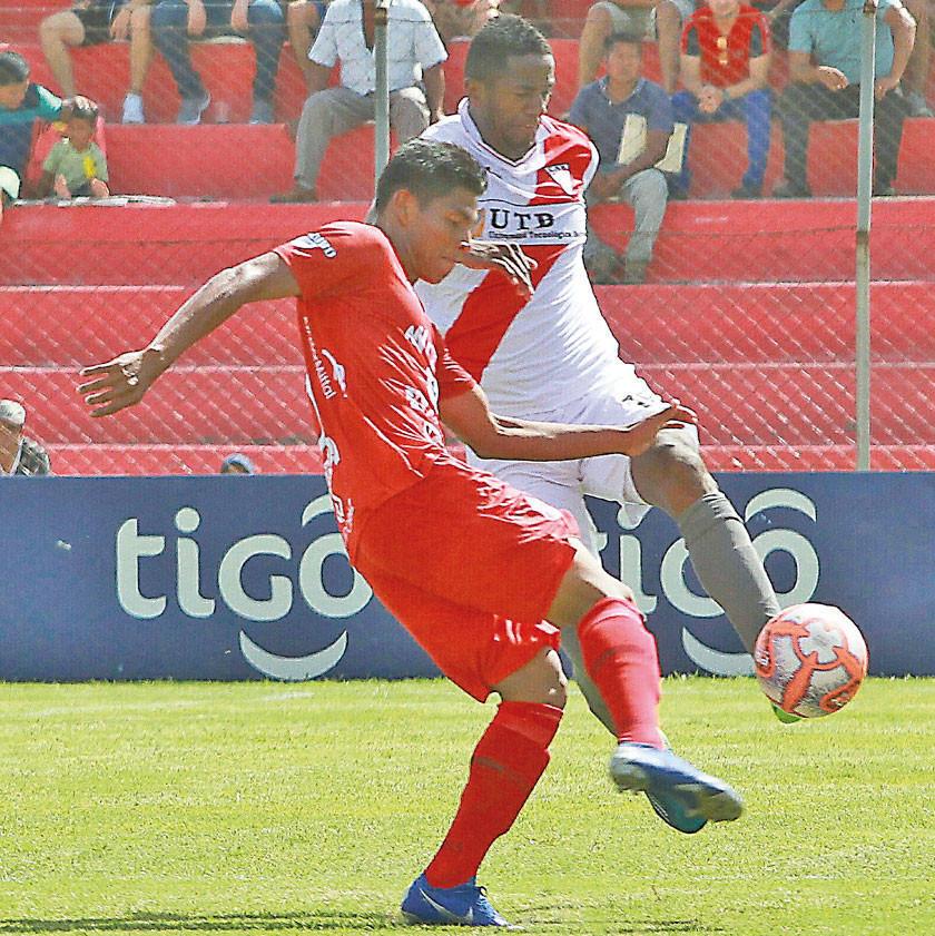 Guabirá resigna otra igualdad en condición de local