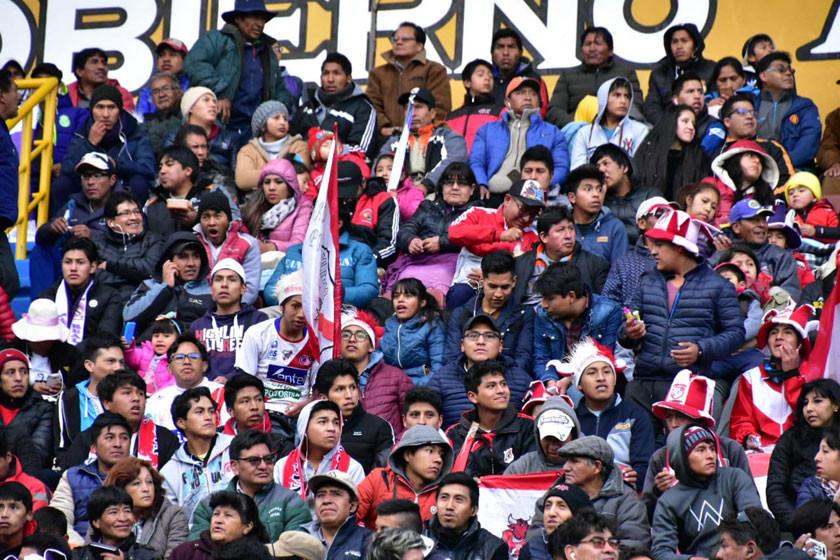 Nacional decide mantener las entradas en 20 bolivianos