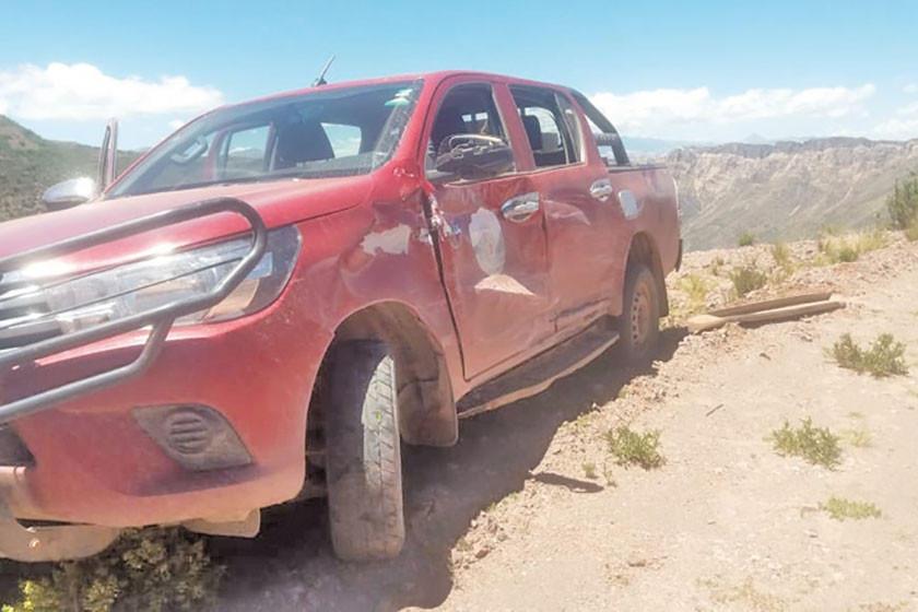 Reportan accidente en la vía a Betanzos