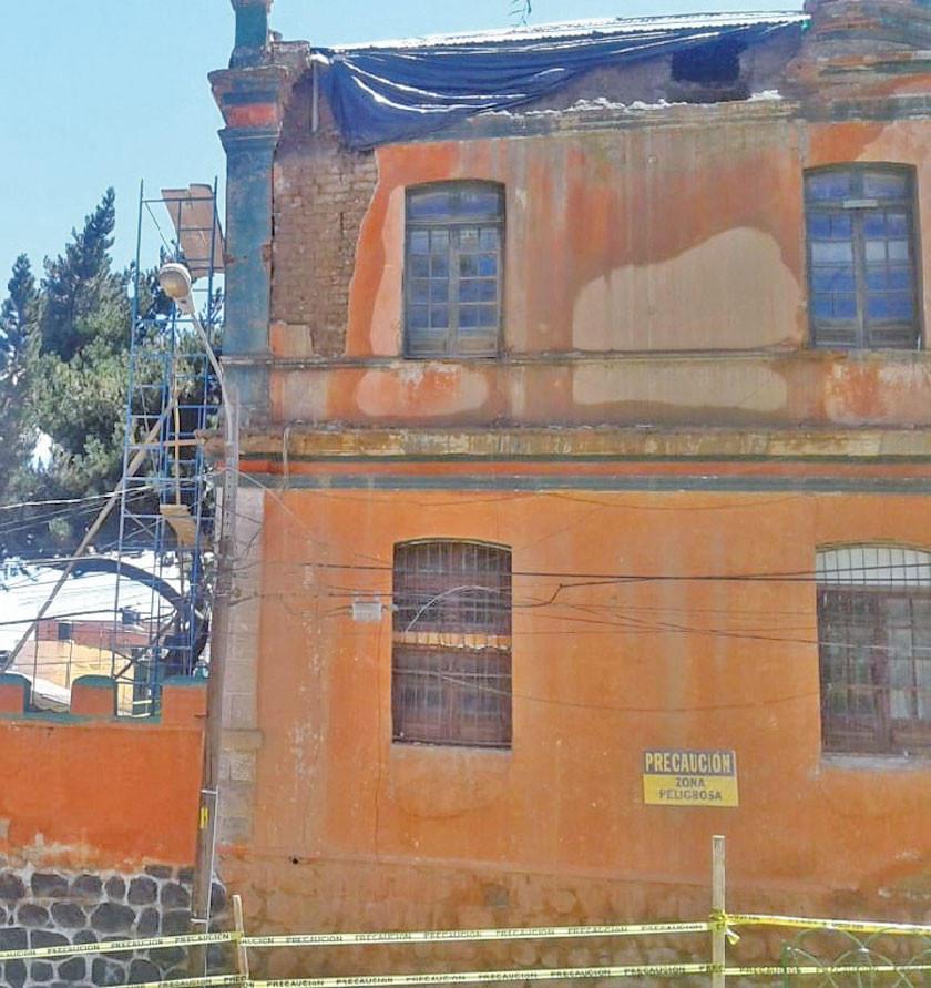 Inicia reparación de edificio del Regimiento 3 Pérez