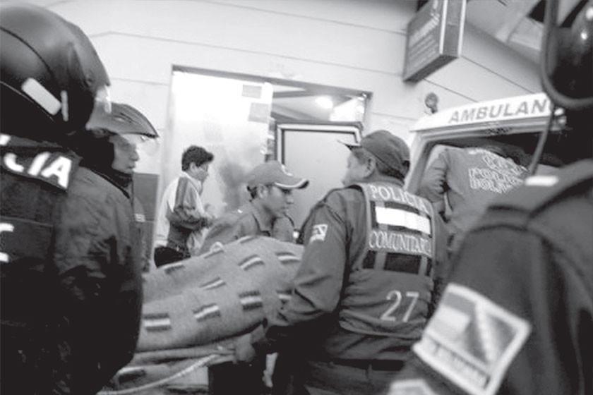 Realizaron el levantamiento de dos cadáveres en Potosí