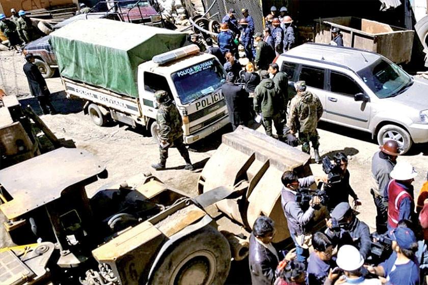 "Existen cuatro militares heridos tras emboscada de ""jucus"" en Huanuni"